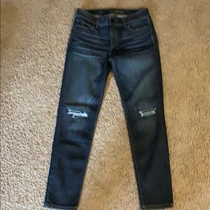 White House Black Market Skimmer Jean